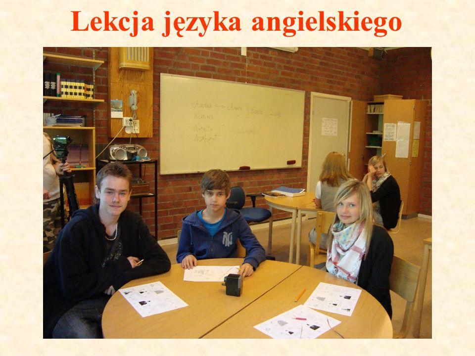 Lekcja języka angielskiego