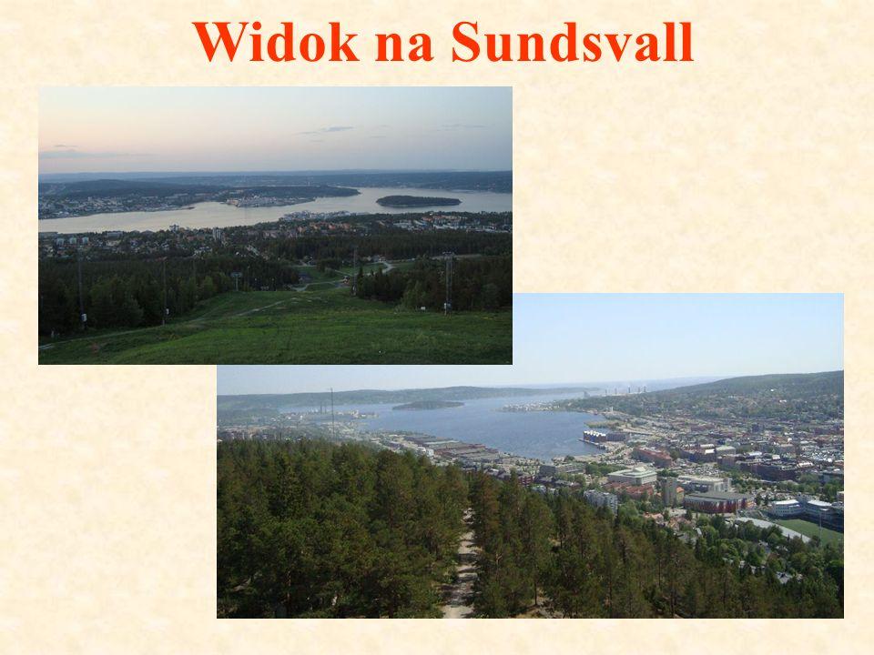 Widok na Sundsvall