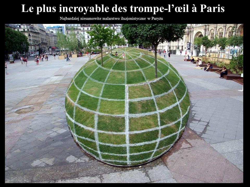 Le plus incroyable des trompe-l'œil à Paris