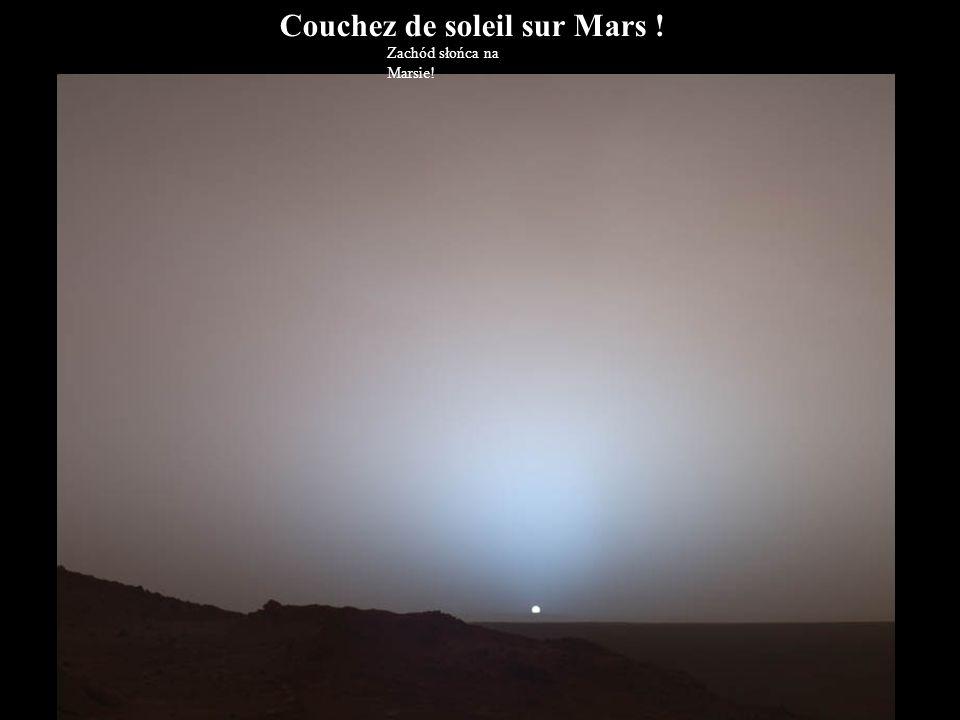 Couchez de soleil sur Mars !