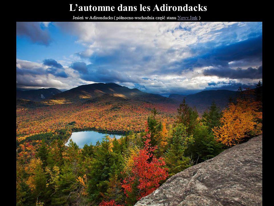 L'automne dans les Adirondacks