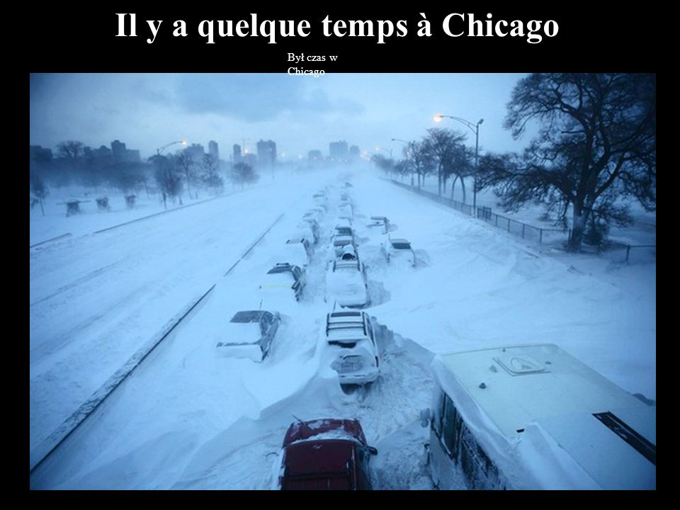 Il y a quelque temps à Chicago