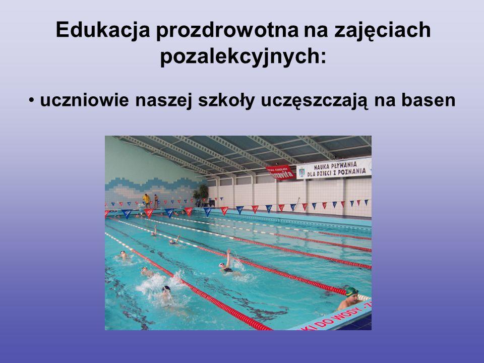 uczniowie naszej szkoły uczęszczają na basen