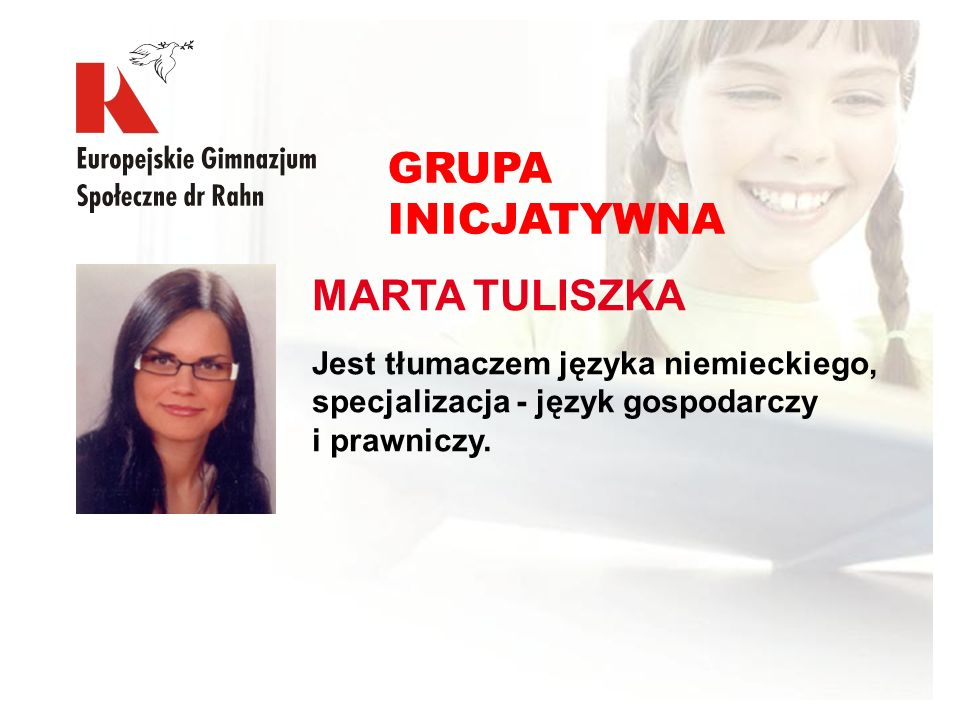 GRUPA INICJATYWNA MARTA TULISZKA