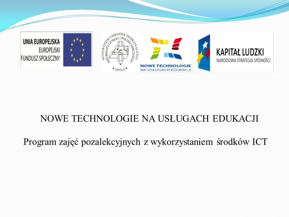 Program zajęć pozalekcyjnych z wykorzystaniem środków ICT