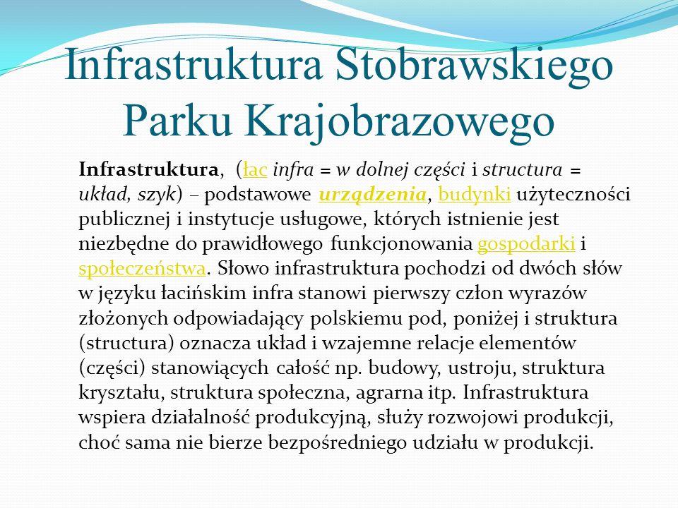 Infrastruktura Stobrawskiego Parku Krajobrazowego