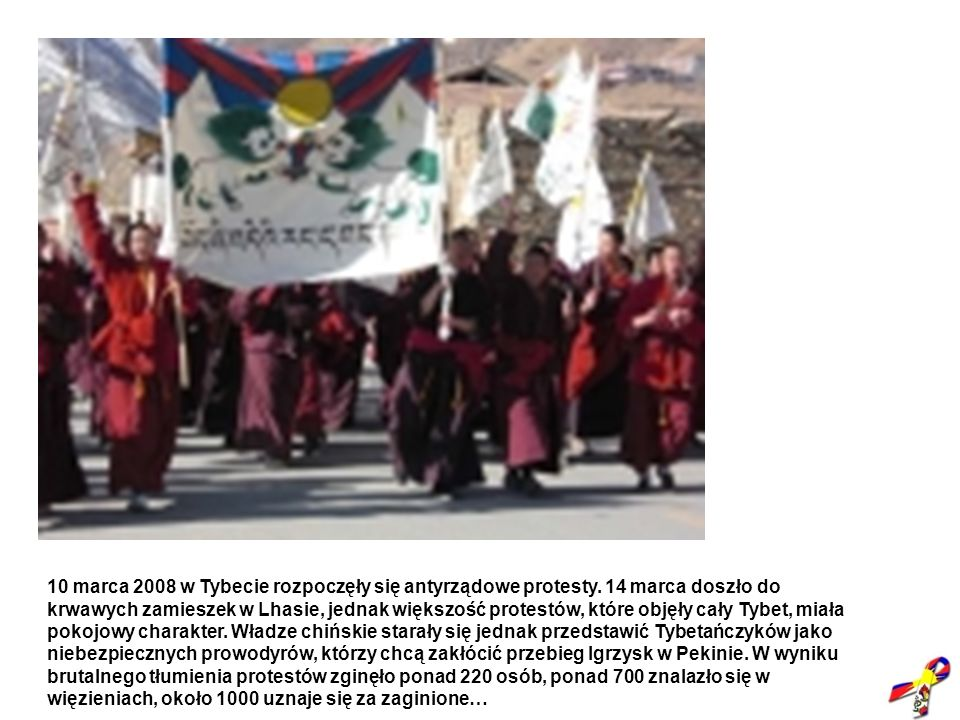 10 marca 2008 w Tybecie rozpoczęły się antyrządowe protesty