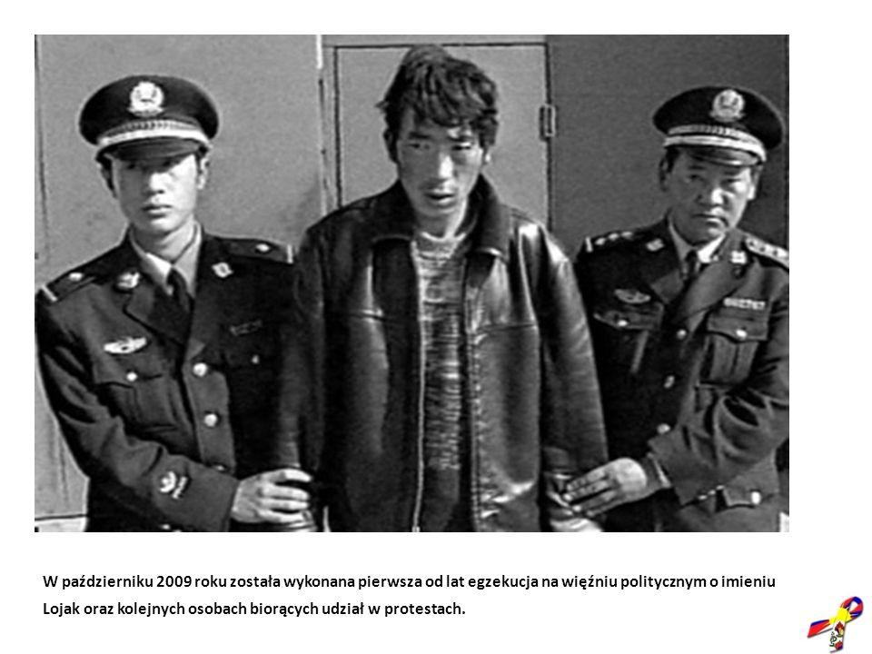 W październiku 2009 roku została wykonana pierwsza od lat egzekucja na więźniu politycznym o imieniu Lojak oraz kolejnych osobach biorących udział w protestach.