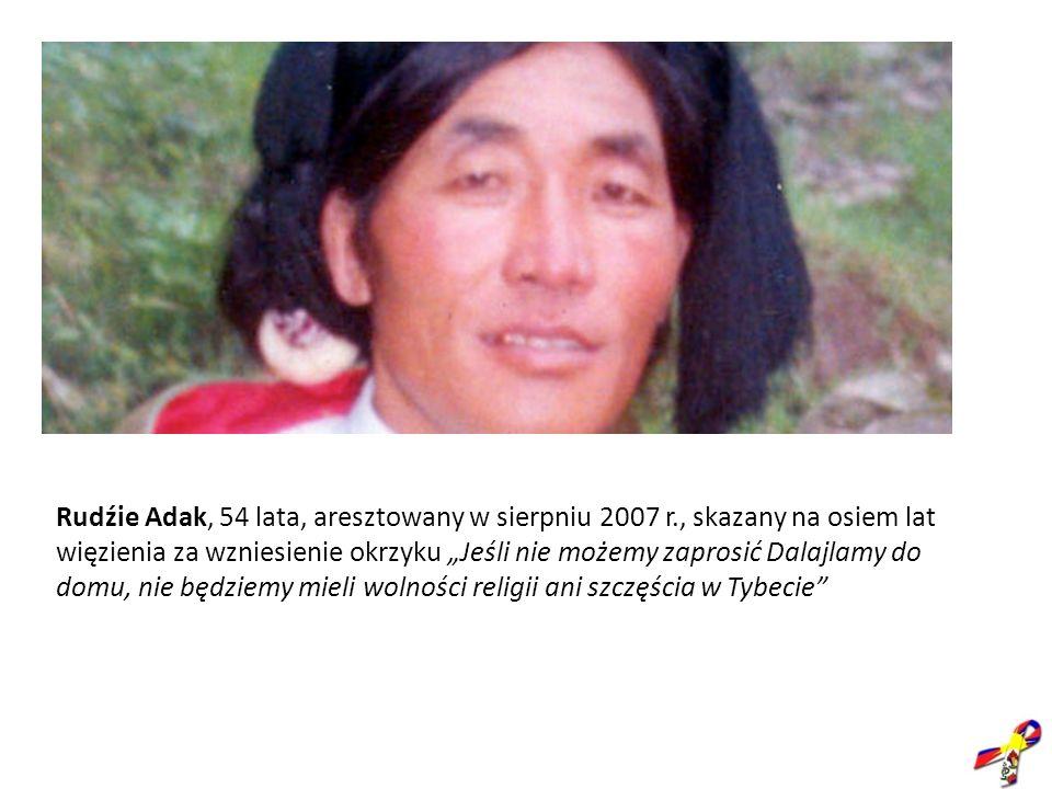 Rudźie Adak, 54 lata, aresztowany w sierpniu 2007 r