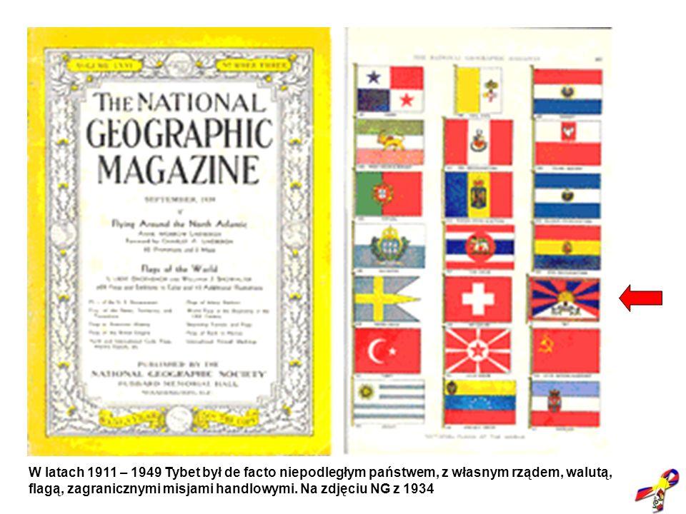 "Niepodległy Tybet (""NG 1934)"