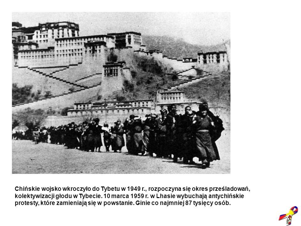 Chińskie wojsko wkroczyło do Tybetu w 1949 r