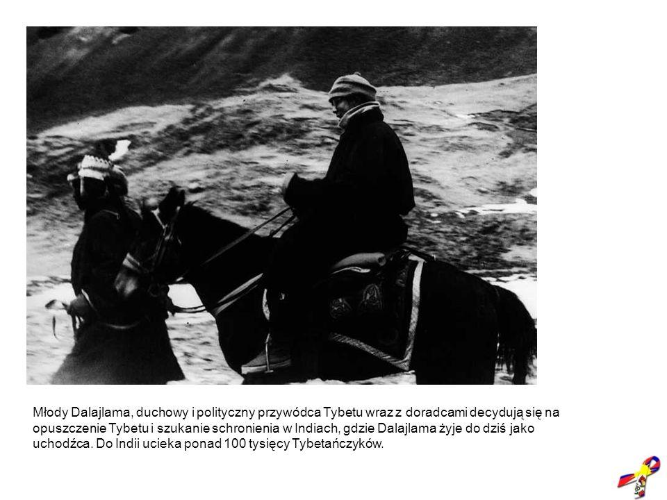 1959, ucieczka Dalajlamy do Indii