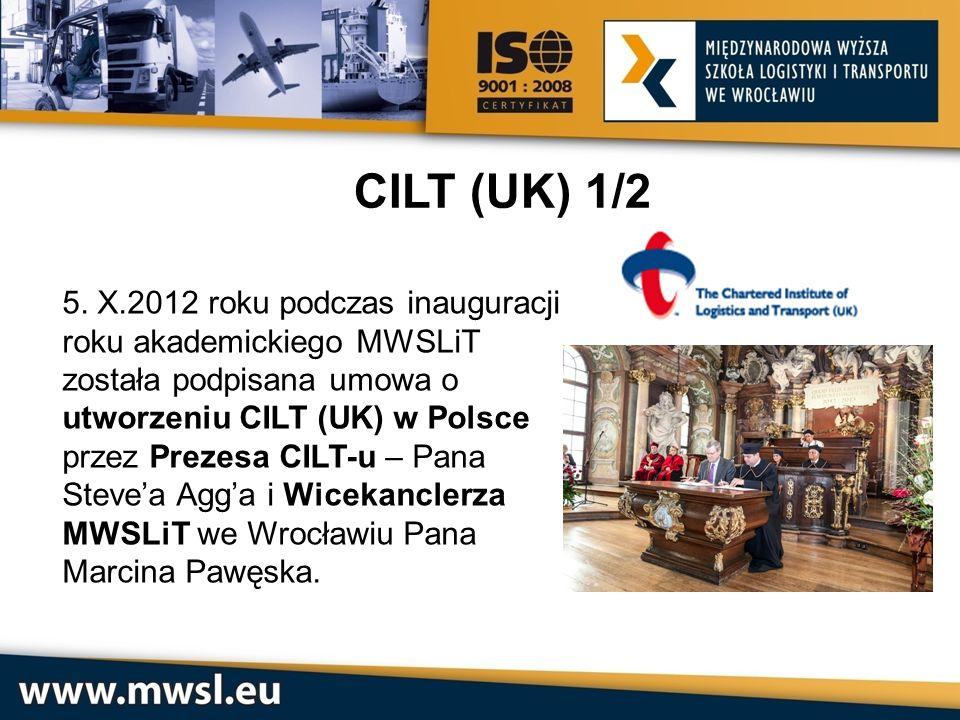CILT (UK) 1/2