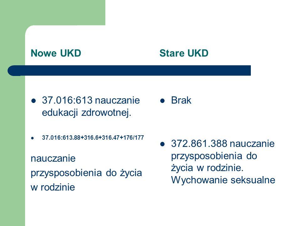 37.016:613 nauczanie edukacji zdrowotnej.