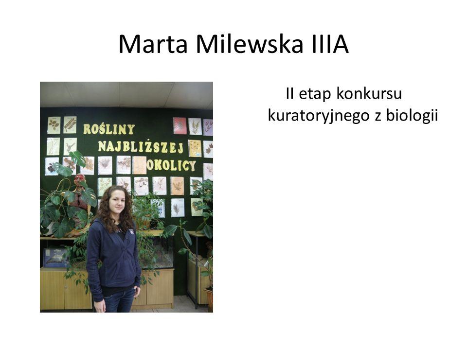II etap konkursu kuratoryjnego z biologii