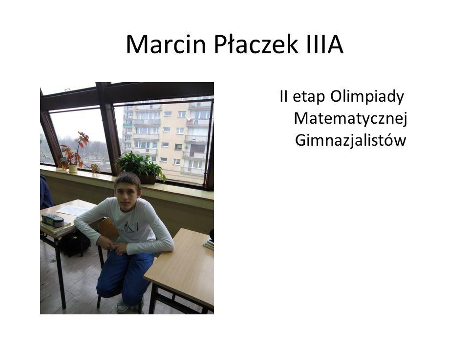 II etap Olimpiady Matematycznej Gimnazjalistów