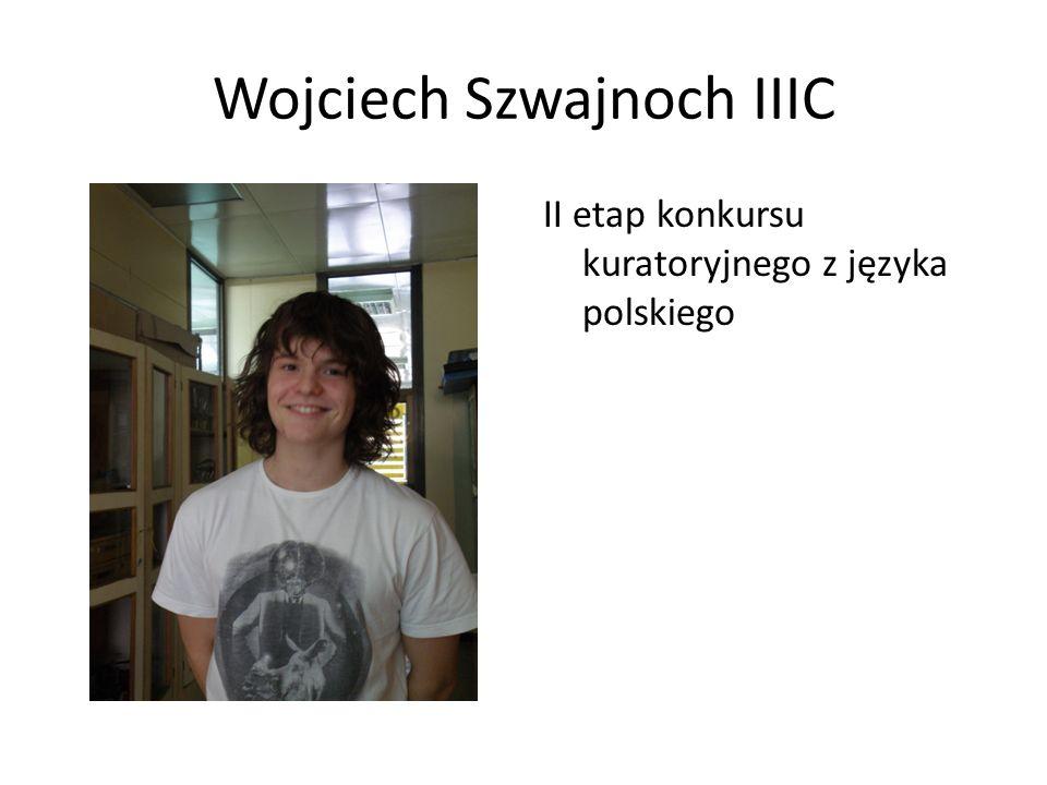 Wojciech Szwajnoch IIIC