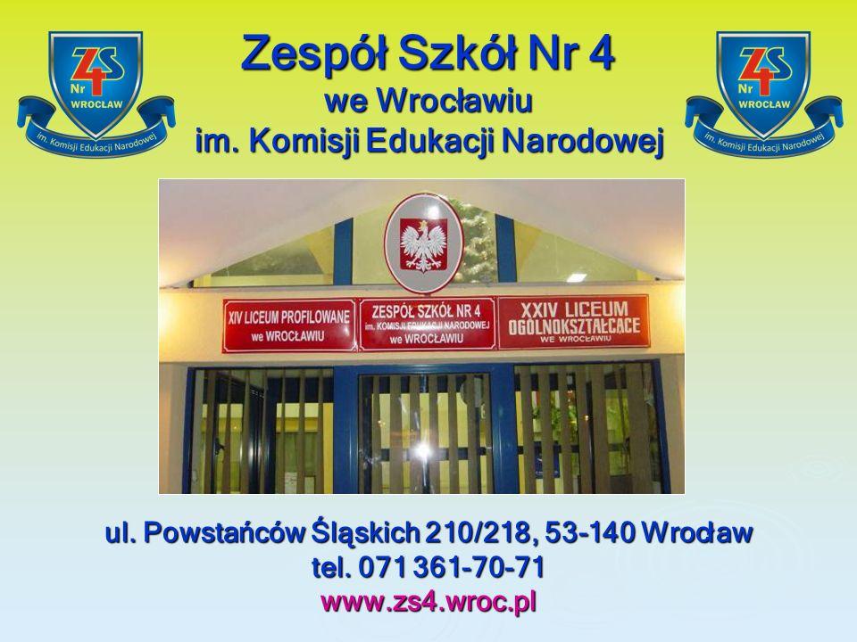 Zespół Szkół Nr 4 we Wrocławiu im. Komisji Edukacji Narodowej