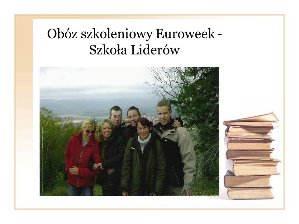 Obóz szkoleniowy Euroweek - Szkoła Liderów