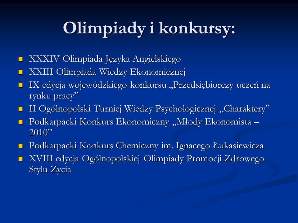 Olimpiady i konkursy: XXXIV Olimpiada Języka Angielskiego