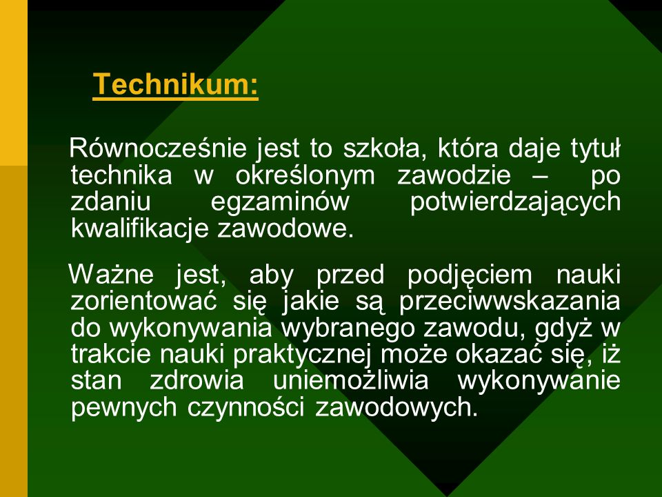 Technikum: