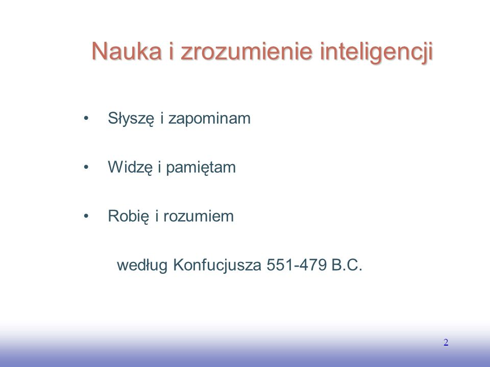Nauka i zrozumienie inteligencji
