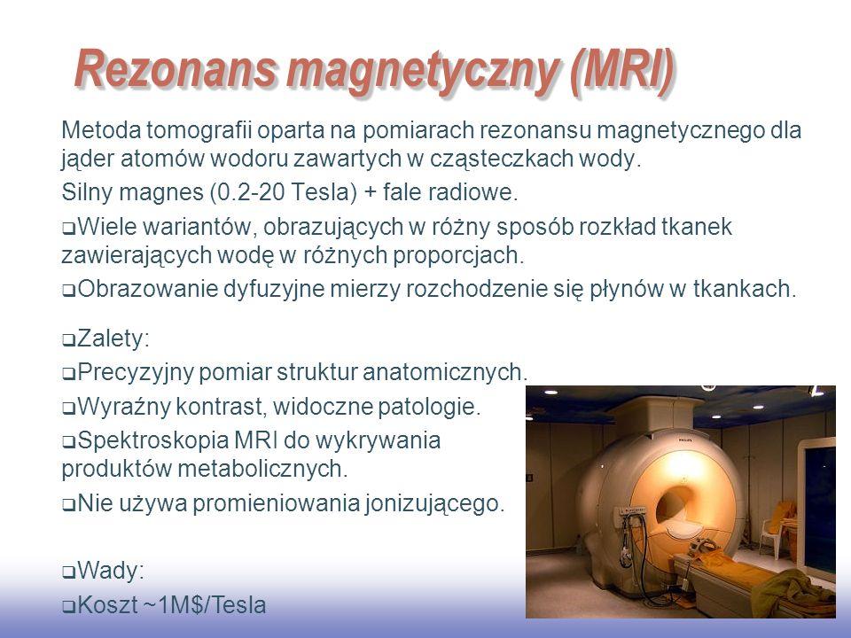 Rezonans magnetyczny (MRI)