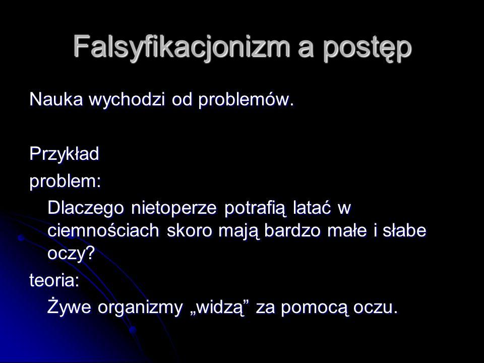 Falsyfikacjonizm a postęp