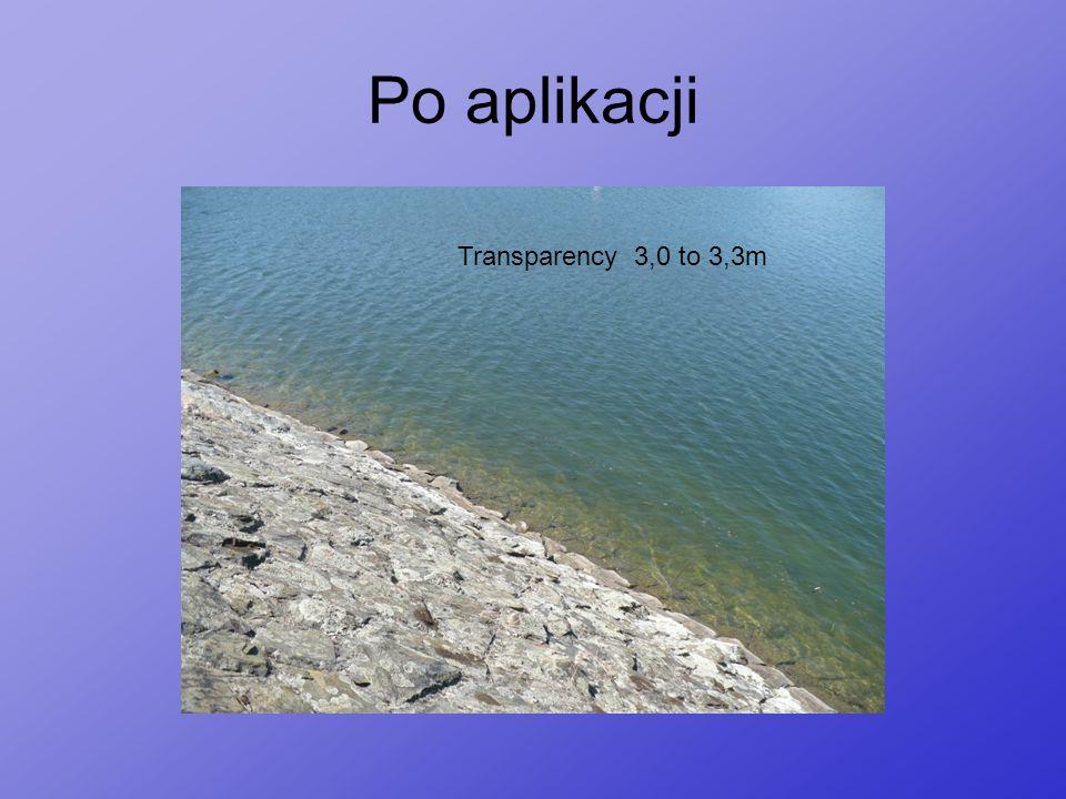 Po aplikacji Transparency 3,0 to 3,3m