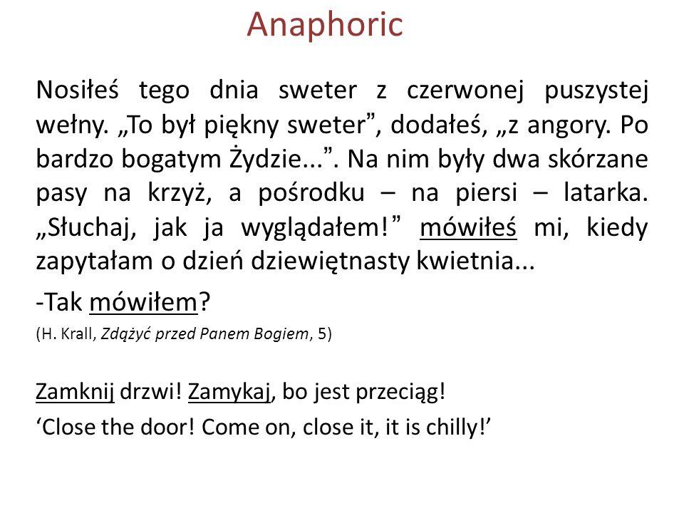 Anaphoric