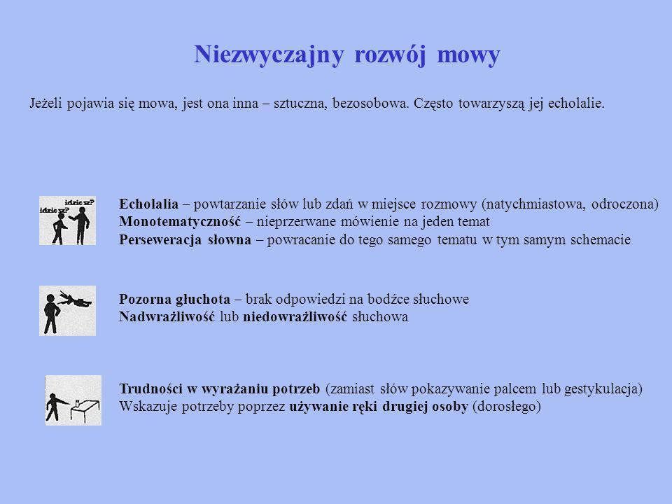 Niezwyczajny rozwój mowy