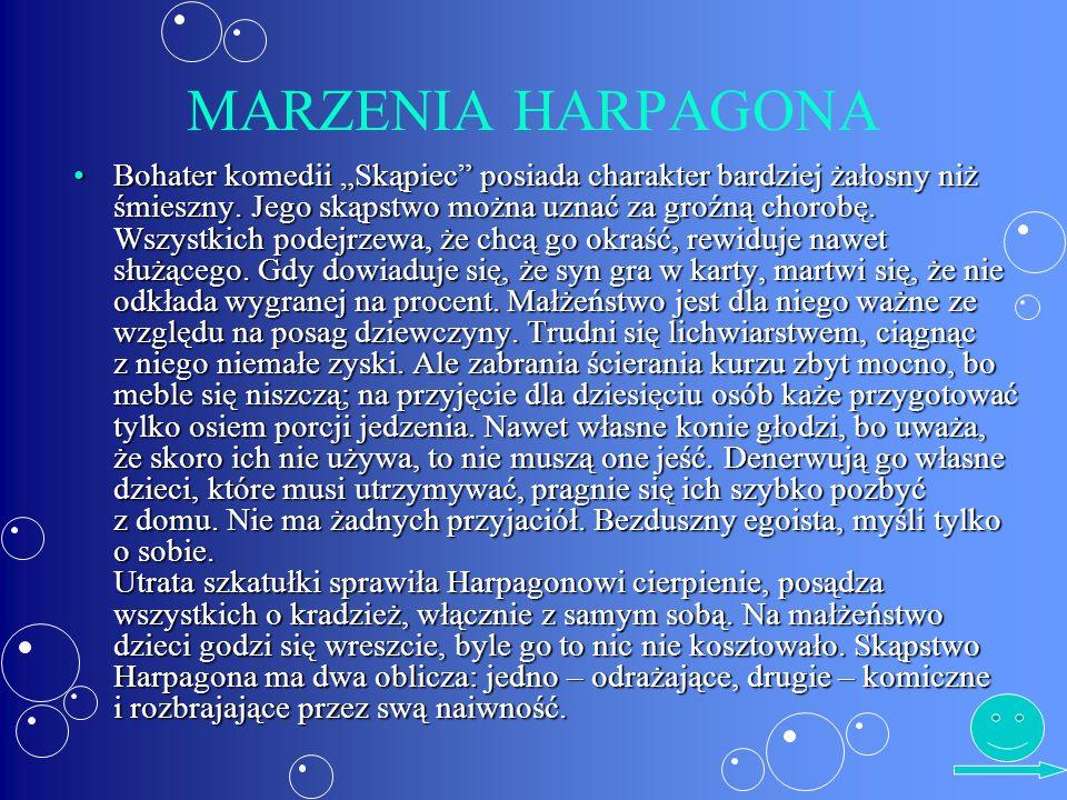 MARZENIA HARPAGONA