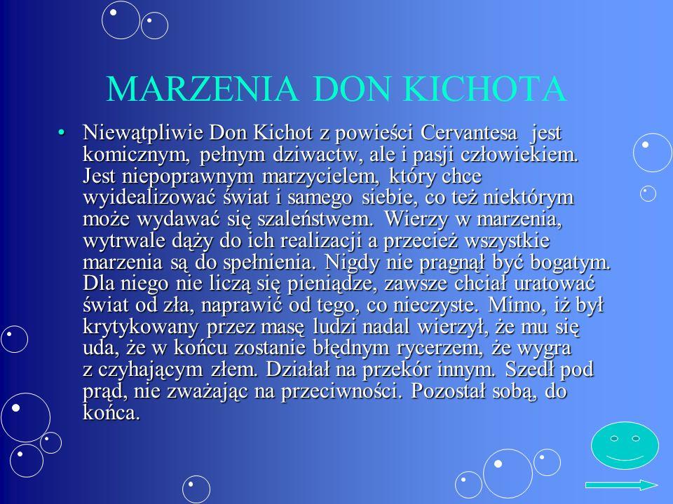 MARZENIA DON KICHOTA