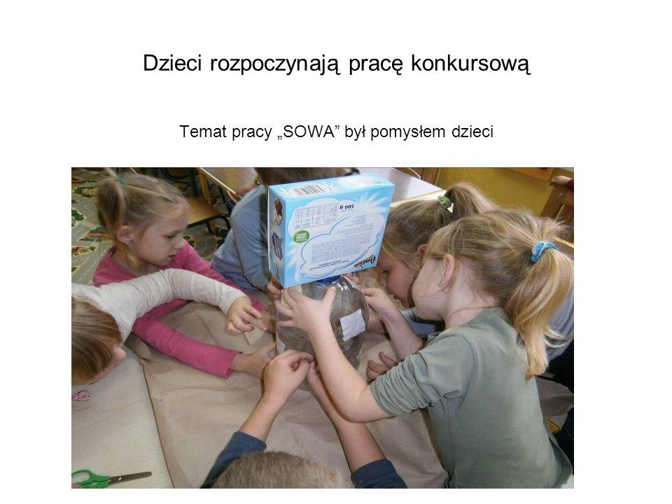 Dzieci rozpoczynają pracę konkursową