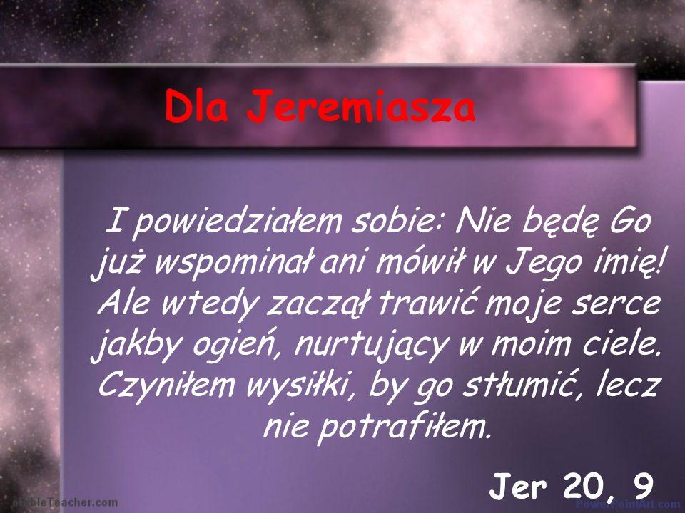 Dla Jeremiasza