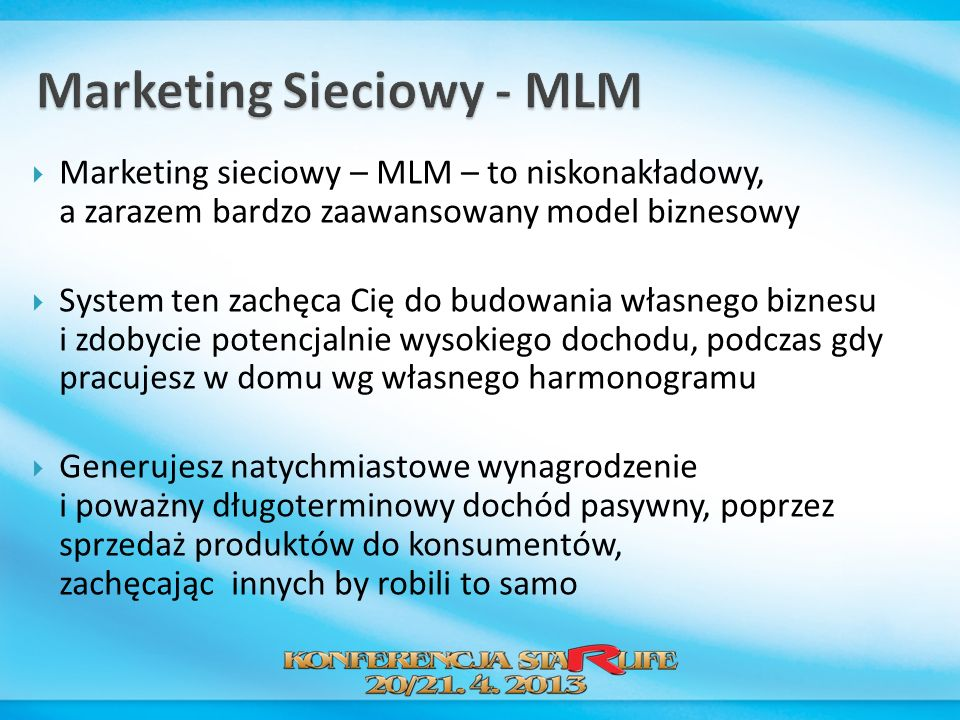 Marketing Sieciowy - MLM
