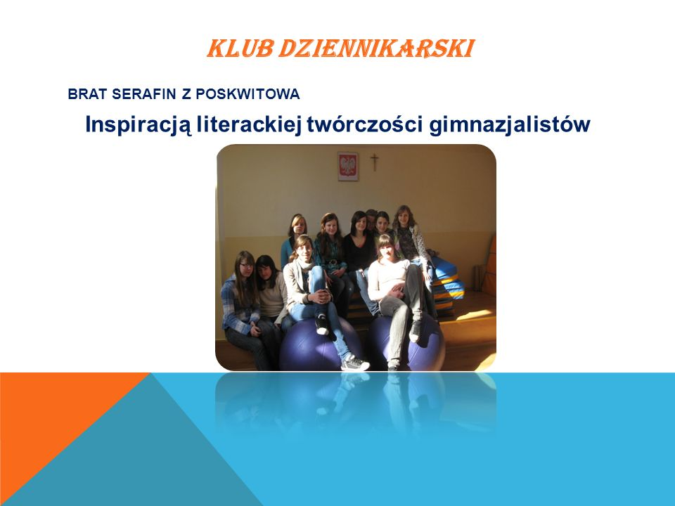 Inspiracją literackiej twórczości gimnazjalistów