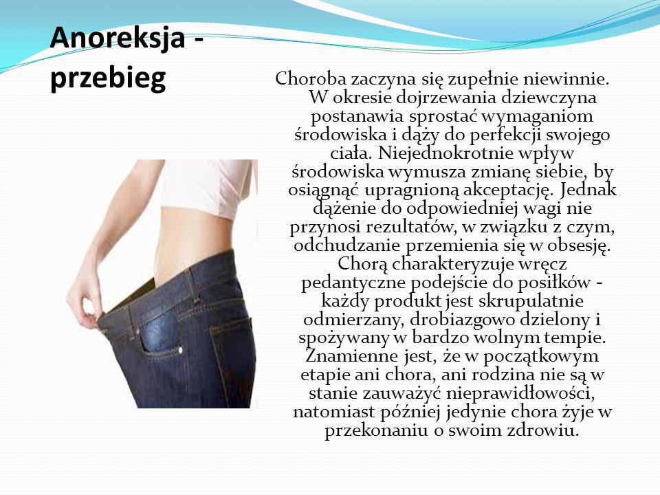 Anoreksja - przebieg