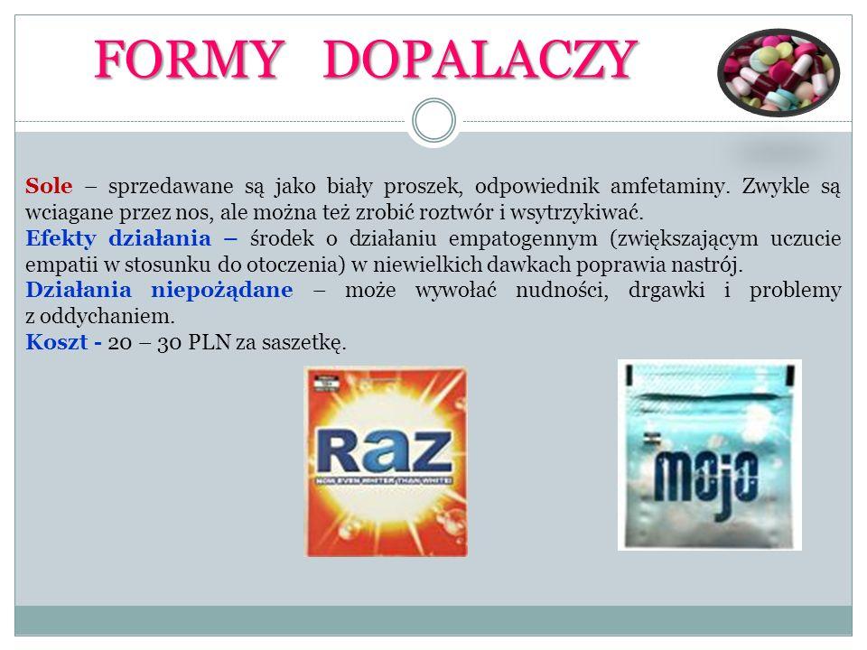 FORMY DOPALACZY
