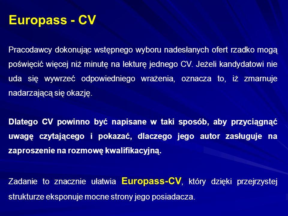 Europass - CV
