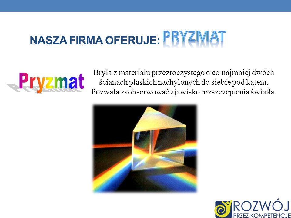 Pryzmat Pryzmat Nasza firma oferuje: