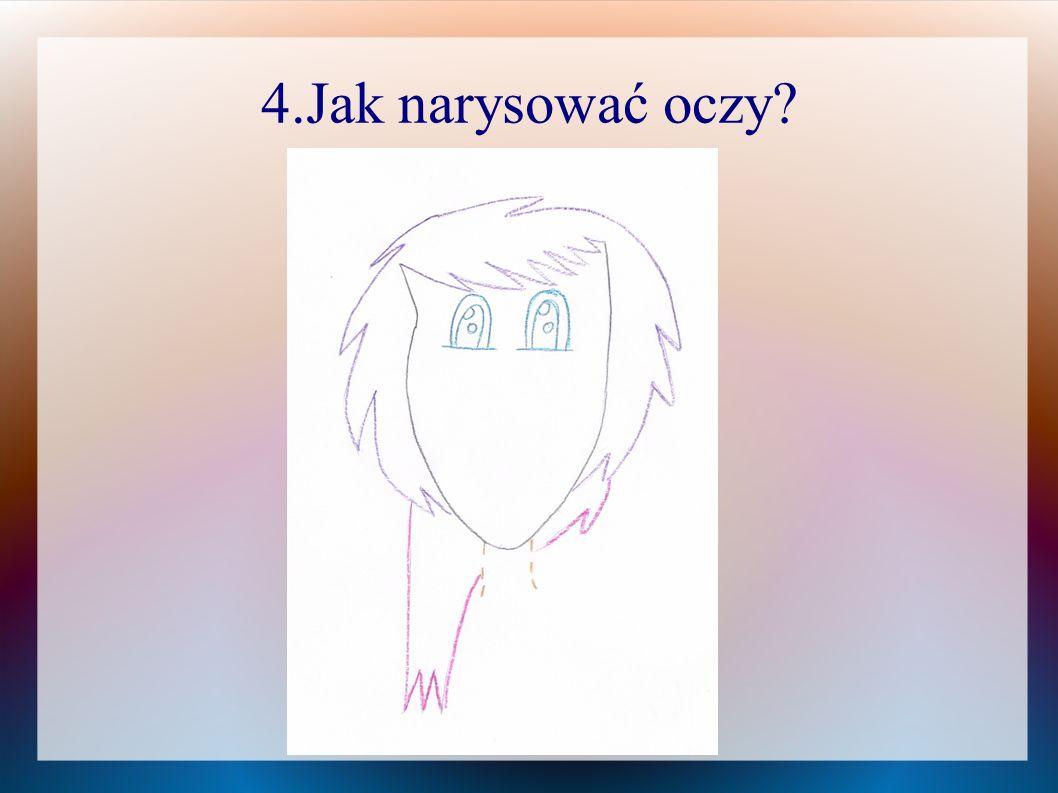 4.Jak narysować oczy