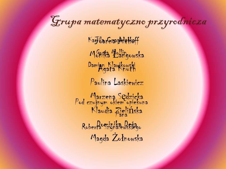 Grupa matematyczno przyrodnicza