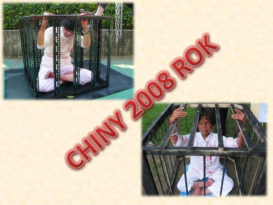 CHINY 2008 ROK