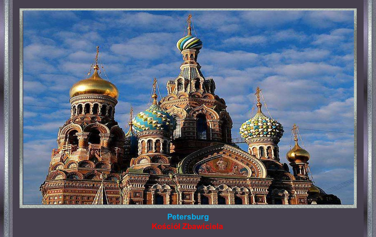 Petersburg Kościół Zbawiciela