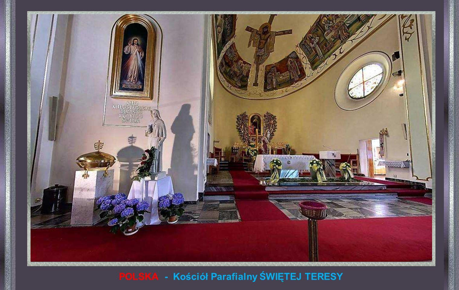 POLSKA - Kościół Parafialny ŚWIĘTEJ TERESY