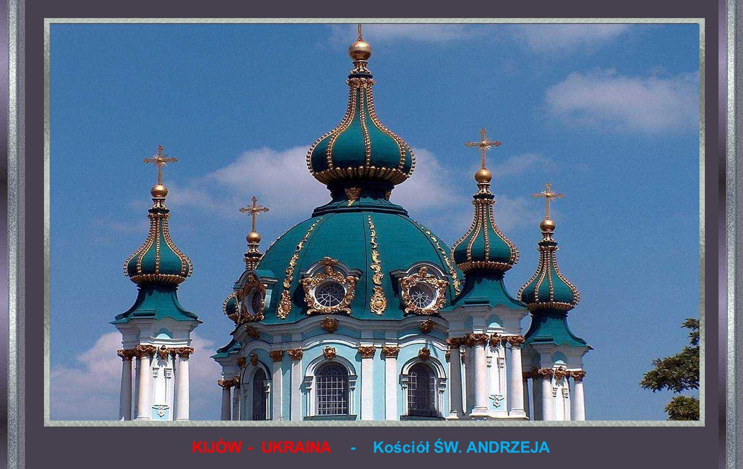 KIJÓW - UKRAINA - Kościół ŚW. ANDRZEJA
