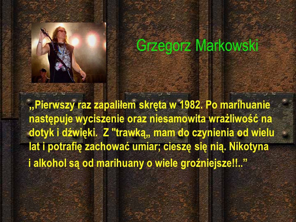 Grzegorz Markowski