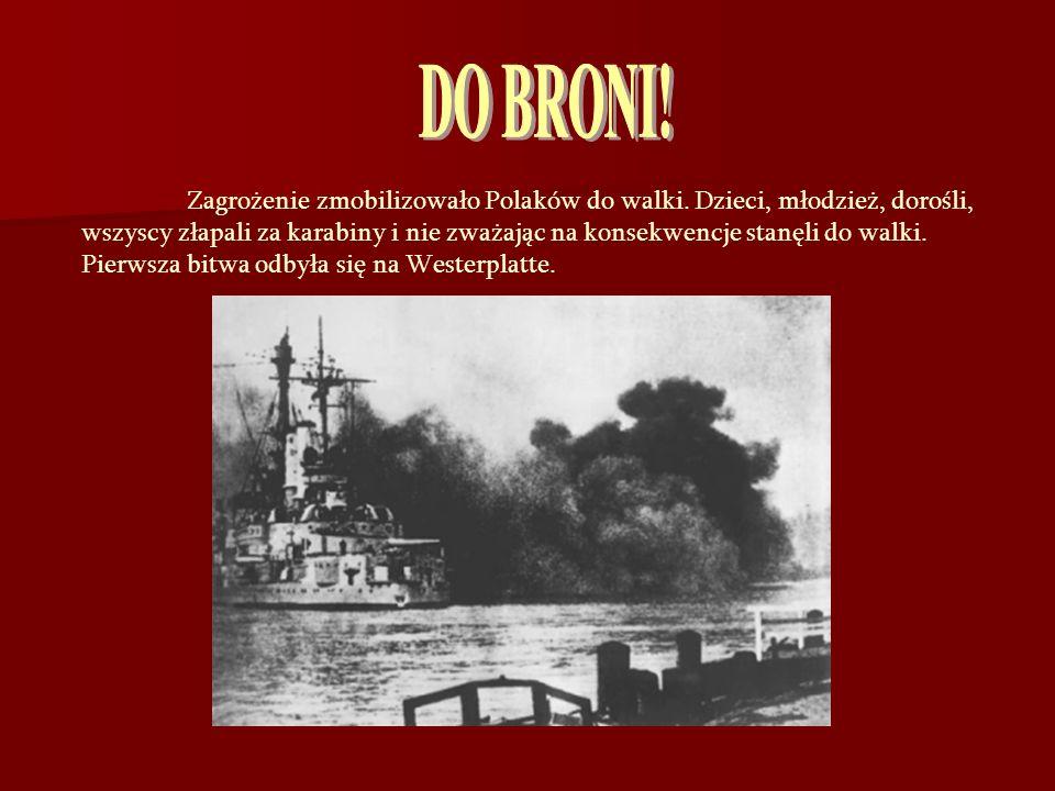 DO BRONI! Zagrożenie zmobilizowało Polaków do walki. Dzieci, młodzież, dorośli,