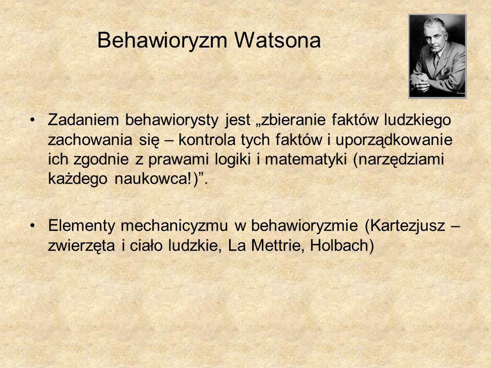 Behawioryzm Watsona